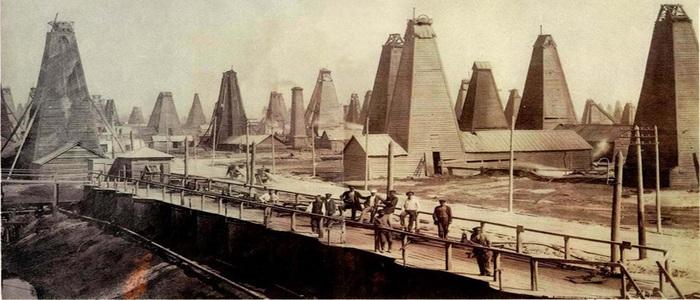 Baku Oil Industry Development