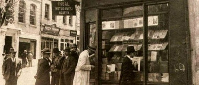 The First Bookseller in Istanbul
