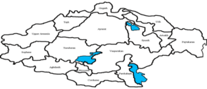 Provinces-Gavars of Historical Armenia