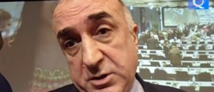 The Aggressive Speech of Mammadyarov