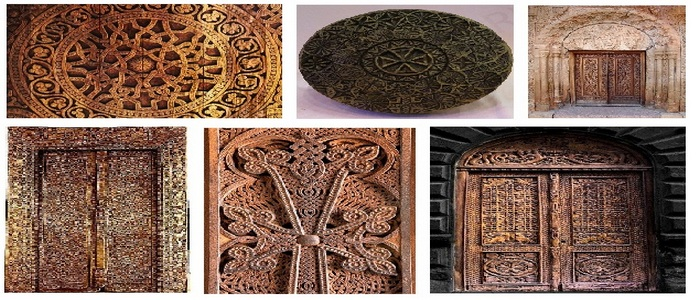 Ancient Armenian Traditions of Woodcarving