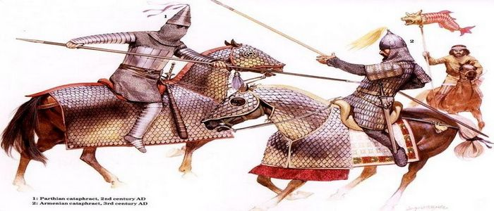 Cataphracts in The Armenian Heavy Cavalry