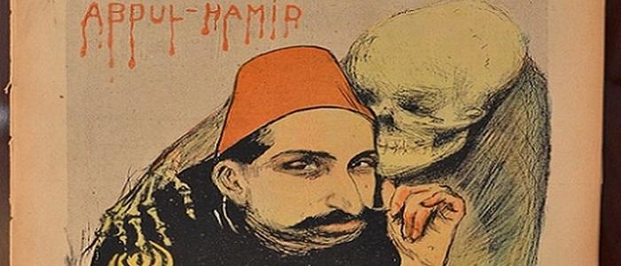 Caricature of Abdul-Hamid