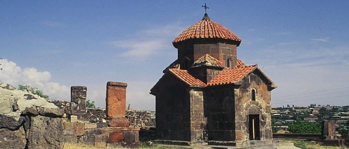 Martiros Saryan – Church of Karmravor