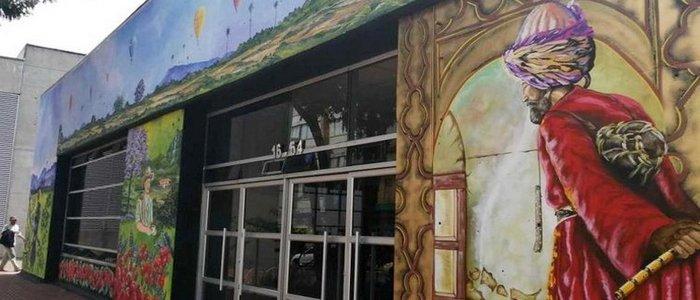"""Turkish"" Graffiti in Colombian Armenia"