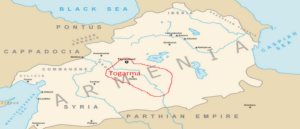 The Location of the City of Tegarama