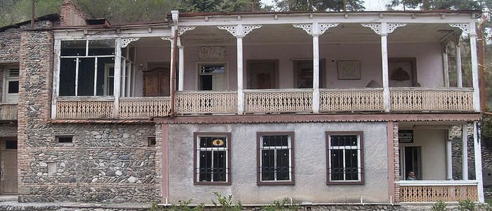 The Most Famous Building of Dilijan