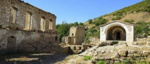 Artsakh – Ruins of the Palace Complex
