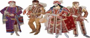 Weapons in The National Costume