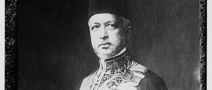 Elimination of Said Halim Pasha