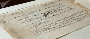 Napoleon Bonaparte's Abdication Document