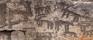 Ancient Cave Paintings In Kars