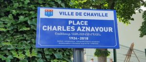 The Charles Aznavour Square