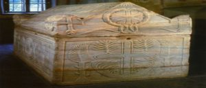 Armenian Letters On The Sarcophagus
