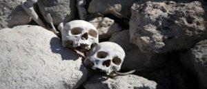 Skulls And Bones Found In Mardin Cave