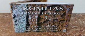 """Komitas' Concert Disc """"Sacred Liturgy"""""""