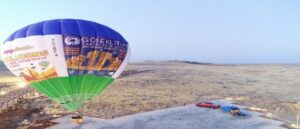 Hot Air Balloon Ride Commenced
