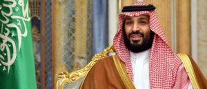 The heir to the throne of Saudi Arabia