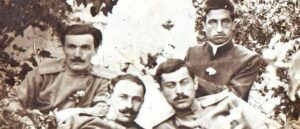 Photo of Armenian officers who grew up on lion's milk - 1918.