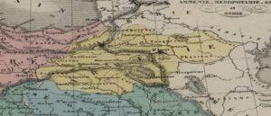Maps of Alexander Willemin and Karl von Spruner Mertz with the designation of Armenia