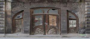 Art Nouveau buildings preserved in Gyumri