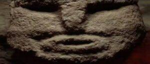 Facial sculpture from Karahan Tepe