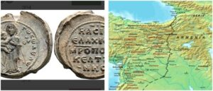 Ancient Byzantine seal in the history of Armenia