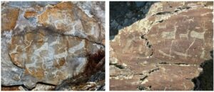 Rock carvings found in Erzurum are classified by the Turkish authorities