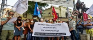 Armenian Church attacked in Istanbul - Protest action