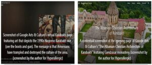 Google Arts & Culture as an Agent of Ethnic Cleansing