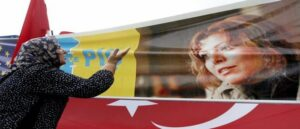 Elif Shafak began to persecute in Turkey for publishing a novel mentioning the Armenian Genocide