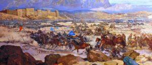 Battle of Manzikert and the invasion of the Seljuk Turks in Armenia