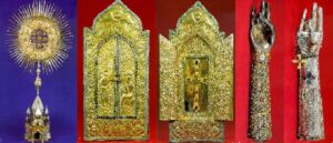 Treasures and relics of the Armenian Church