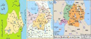 Arab map of the Caliphate period - Baku was part of Armenia