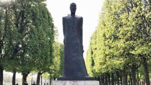 Komitas Monument and Armenian Genocide Memorial in Paris, France