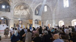 Armenian church in Malatya hosts first religious service in 106 years