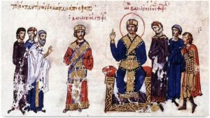 Basil I was emperor of the Byzantine Empire