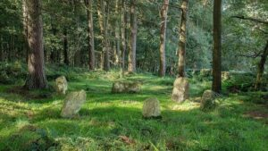 The Stone circle of Doll Thor - England