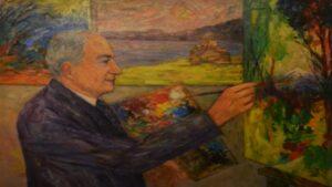 French-Armenian painter Zareh Moutafian