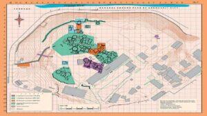 Ancient settlement Shengavit - Archaeological site in modern Yerevan
